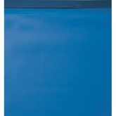 Liner de fond unicolore bleu Ø 350 x 90 cm - fixation Hung - Gre