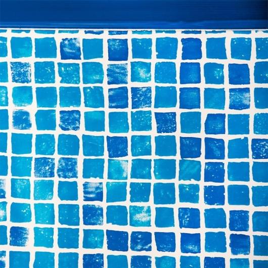 Liner en grésite 50/100 avec contour pour accrochage Hung 915 x 470 x 132 cm Gre