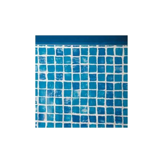Liner mosaico 50/100 con profilo saldato 610 x 375 x 135 cm Gre