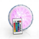 Proiettore LED magnetico con telecomando a distanza Gre