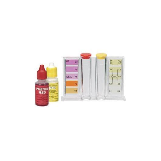 Kit d'analyse du chlore, brome et pH Gre