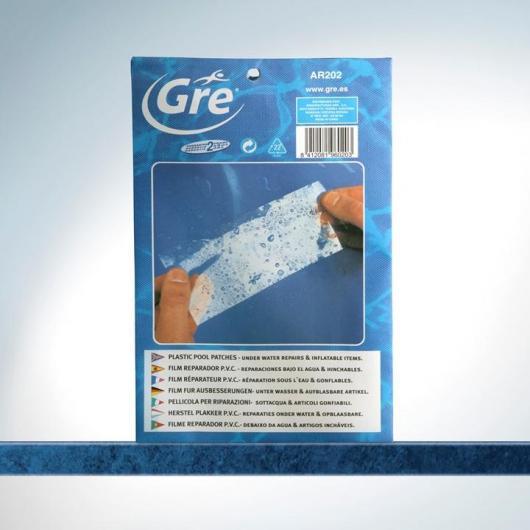 Kit 5 ud reparador film PVC flexible Gre
