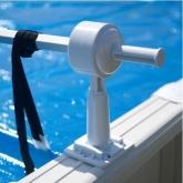 Avvolgitore per copertura piscina fuori terra Gre