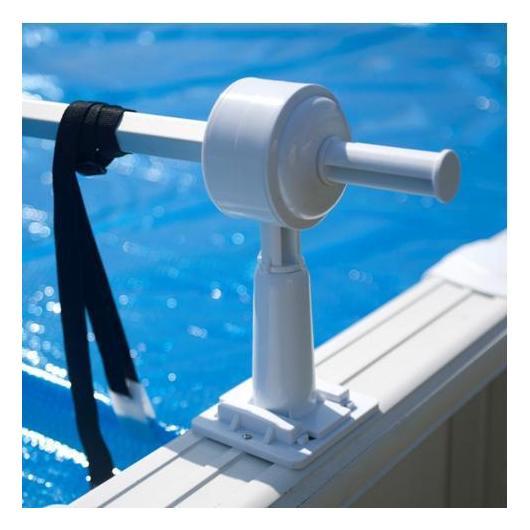 Enrollador de cubiertas para piscinas elevadas Gre