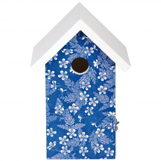 Petite cage à oiseaux Blue Blossom
