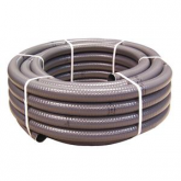 Cinza PVC tubo Ø 50 Flexible 25 m Gre