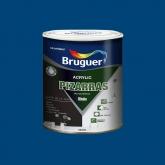 Pittura multisuperfice opaca Acrilico Pizarras Bruguer 750 ml BLU