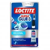 Adhesivo universal instantáneo Loctite SuperGlue-3 3 g