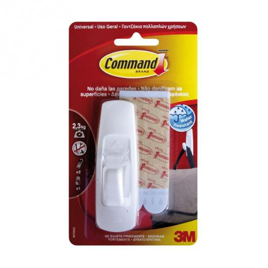 Gancho grande universal Command Brand 3M