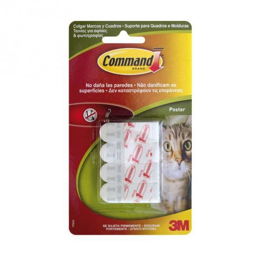 Pack de 12 tiras pequeñas Command