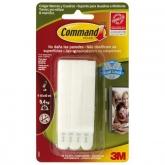 Pack 8 fitas para quadros estreitos Command