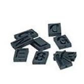Set de letras y figuras para GE 70