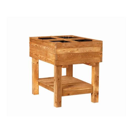 Tavolo da coltivazione in legno Germin 60