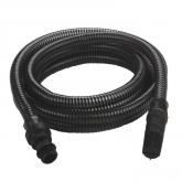 Tubo nero di aprirazione 4m e connettore di plastica Einhell