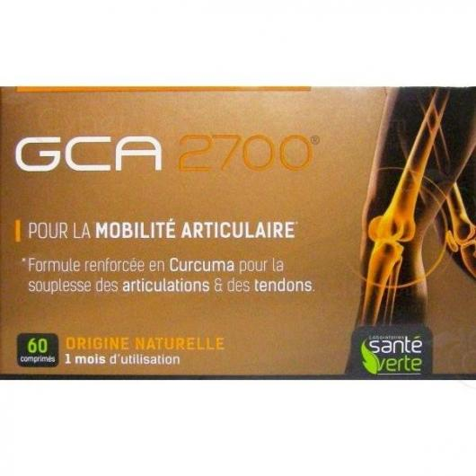 GCA 2700 Santé Verte, 60 comprimés