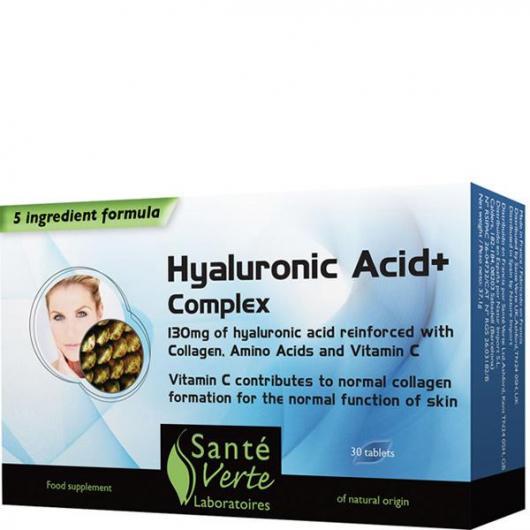 Complexe d'acide hyaluronique 30 comprimés