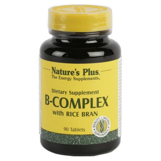 Complexe vitamines B Nature's Plus, 90 comprimés