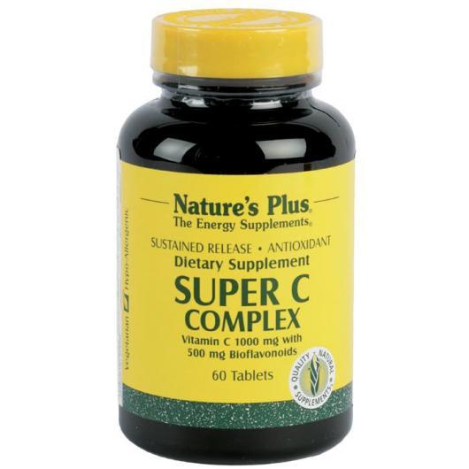 Super C Complex Nature's Plus, 60 comprimés