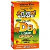 Animal Parade Vitamine D3 en gouttes Nature's Plus, 10 ml