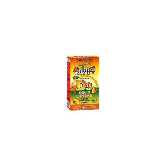 Animal Parade Vitamina D3 gotas Nature's Plus, 10 ml