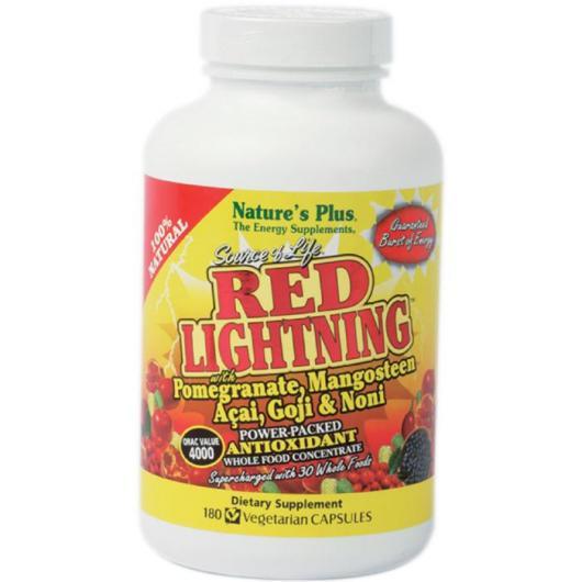 Red lightning Nature's Plus, 180 capsule