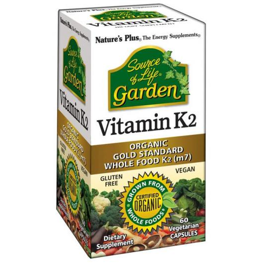 Vitamine K2 Garden Nature's Plus, 60 comprimés