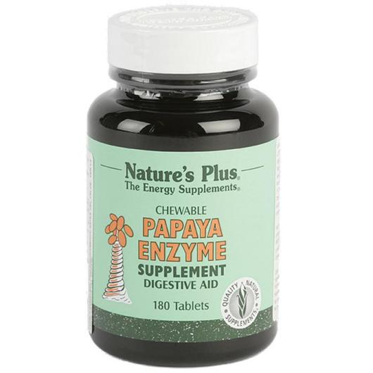 Papaya enzyme Nature's Plus, 180 comprimidos