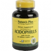 Acidophilus Nature's Plus, 90 cápsulas