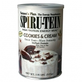 Spiru-Tein Cookies & Cream Nature's Plus, 525 g