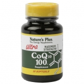 Ultra CoQ10 100 mg Nature's Plus, 30 perlas