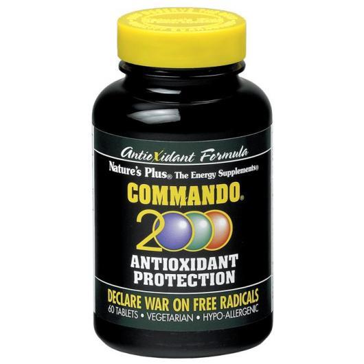 Commando 2000 Nature's Plus, 60 comprimidos