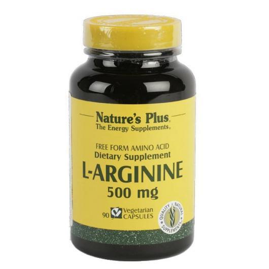 L-Arginina 500mg. 90 capsule
