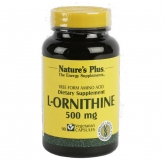 L-ornitina 500mg Nature's Plus. 90 capsule