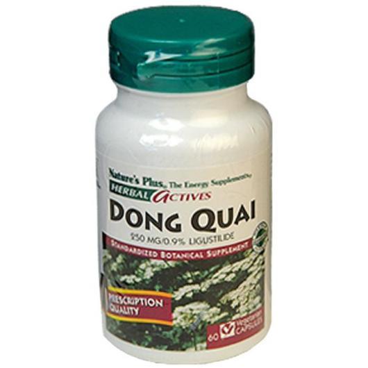Dong Quai Nature's Plus, 60 cápsulas