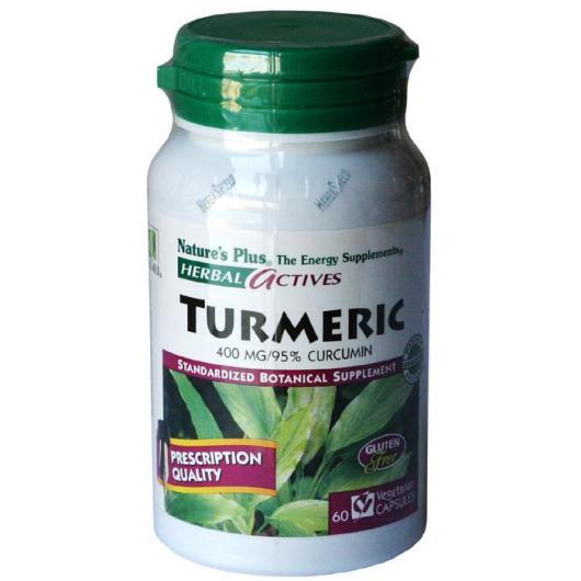 Cúrcuma (Turmeric) 400 mg Nature's Plus, 60 cápsulas