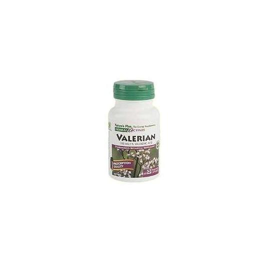 Valeriana 300mg Nature's Plus, 60 cápsulas