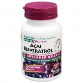 Açai Resveratrol Nature's Plus, 30 comprimidos