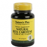 NATURAL beta carotene Nature's Plus. 90 perle