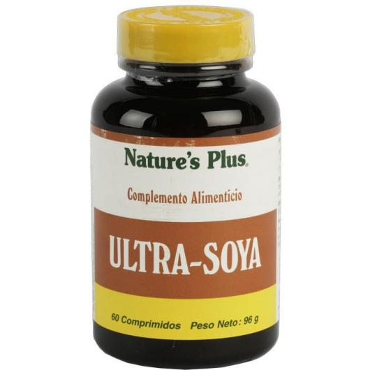 Ultra Soya Nature's Plus, 60 comprimidos