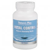 METAL CONTROL Nature's Plus .120 compresse
