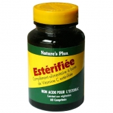 Estérifiée Nature's Plus, 60 comprimidos