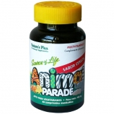 Animal Parade Multivitamínico sabor cereza Nature's Plus, 60 comprimidos