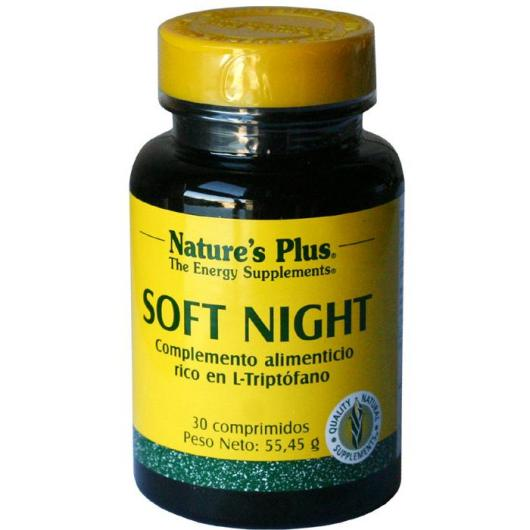 Soft Night Nature's Plus, 30 compresse