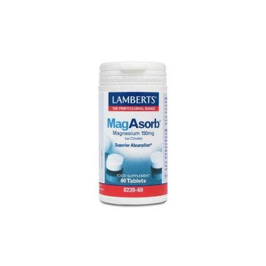 MagAsorb® Lamberts, 60 tabletas