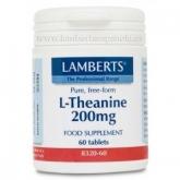L-Théanine 200 mg Lamberts, 60 comprimés
