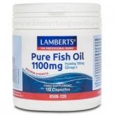 Olio di Pesce Puro 1100mg Lamberts, 120 capsule
