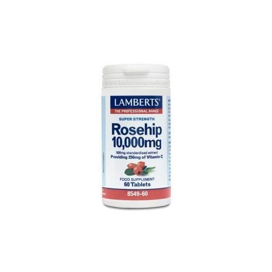 Escaramujo 10.000 mg Lamberts, 60 tabletas