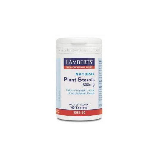 Stérols végétaux 800 mg Lamberts, 60 comprimés