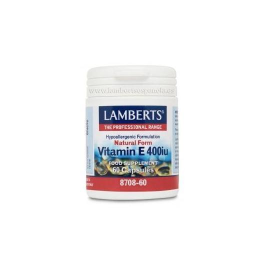 Vitamina E Naturale 400 UI Lamberts