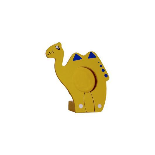 Marco Fotos Madera Camello